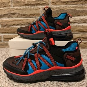 Nike Air Max 270 Bowfin Red Teal Sz 12 NEW